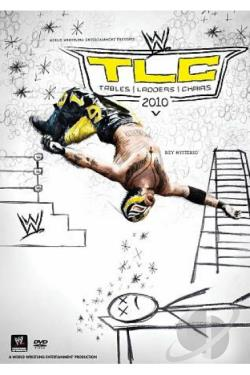 WWE: TLC - Tables, Ladders and Chairs 2010 DVD Cover Art