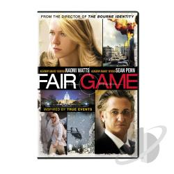 Fair Game DVD Cover Art
