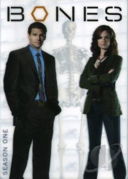 Bones - The Complete First Season DVD Cover Art