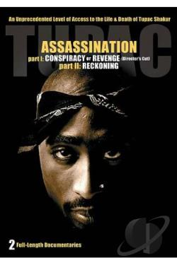 Tupac Assassination - Part I Conspiracy or Revenge - Part II Reckoning DVD Cover Art
