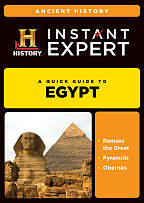 Instant Expert: Ancient History: Egypt DVD Cover Art