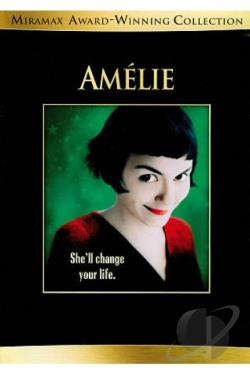 Amelie DVD Cover Art