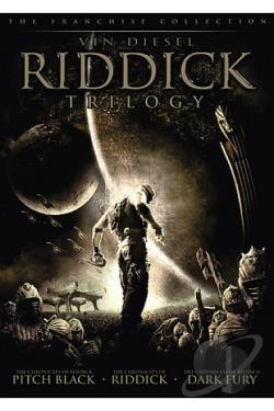 Riddick Trilogy DVD Cover Art