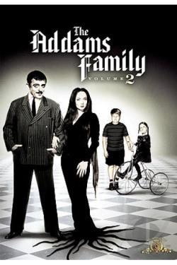 Addams Family - Volume 2 DVD Cover Art