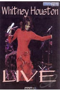 Whitney Houston - Live DVD Cover Art