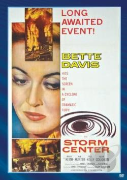 Storm Center DVD Cover Art