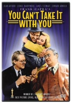 You Can't Take It With You DVD Cover Art