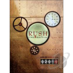 Rush: Time Machine - Live in Cleveland DVD Cover Art