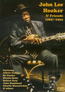 John Lee Hooker and Friends 1984-1992 DVD Cover Art