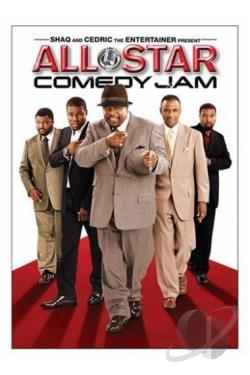 Shaq and Cedric the Entertainer Present: All Star Comedy Jam DVD Cover Art