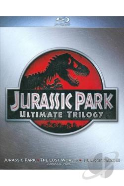 Jurassic Park: Ultimate Trilogy BRAY Cover Art