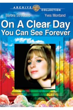On a Clear Day You Can See Forever DVD Cover Art