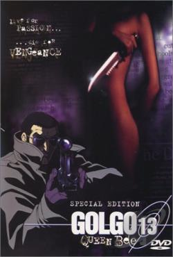 Golgo 13: Queen Bee DVD Cover Art