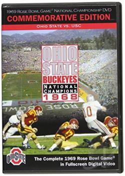 1968 Ohio State National Champions DVD Cover Art