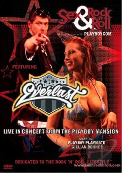 Everlast - Live In Concert From The Playboy Mansion DVD Cover Art