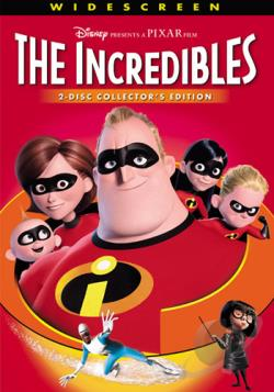 Incredibles DVD Cover Art