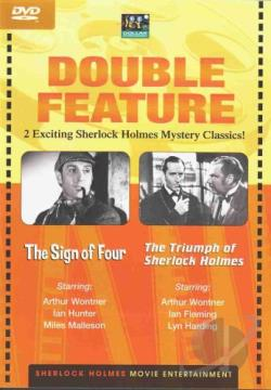 Sign Of Four/The Triumph Of Sherlock Holmes DVD Cover Art