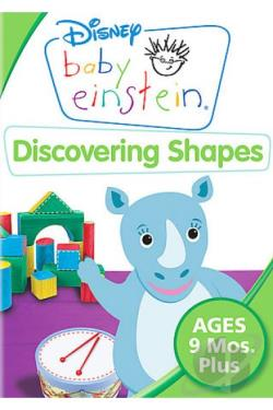 Baby Einstein: Discovering Shapes - Circles, Squares and More! DVD Cover Art
