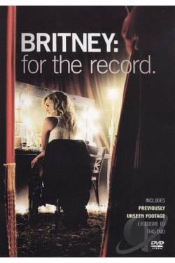 Britney Spears - For The Record DVD Cover Art