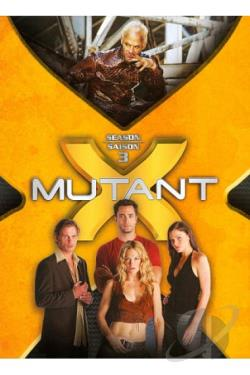 Mutant X - The Complete Third Season DVD Cover Art