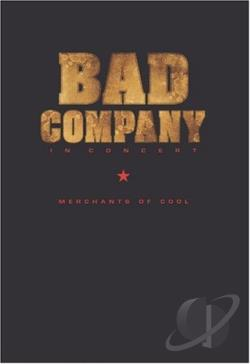 Bad Company - In Concert: Merchants of Cool DVD Cover Art