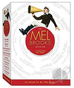 Mel Brooks Boxset Collection DVD Cover Art