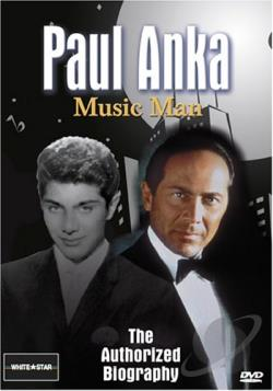 Paul Anka: The Music Man DVD Cover Art