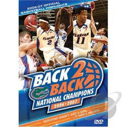 Back 2 Back National Champions 2006-2007 DVD Cover Art