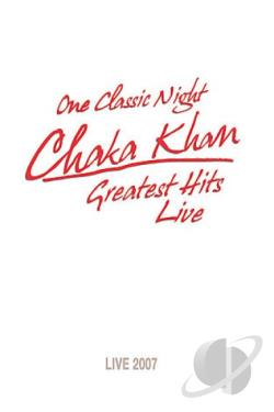 Chaka Khan - Greatest Hits Live DVD Cover Art