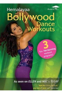 Hemalayaa: Bollywood Dance Workouts DVD Cover Art