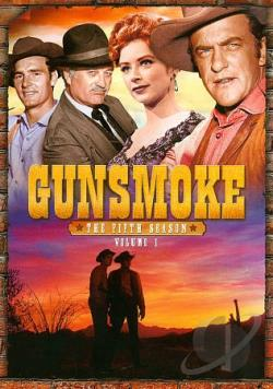 Gunsmoke - The Fifth Season: Vol. 1 DVD Cover Art