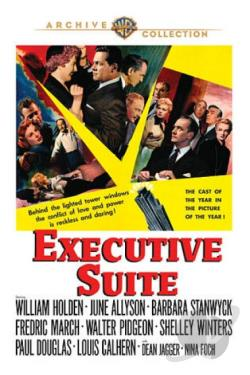 Executive Suite DVD Cover Art