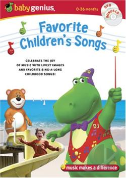 Baby Genius - Favorite Children's Songs DVD Cover Art
