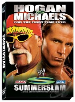 WWE - Summerslam 2005 DVD Cover Art