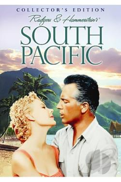 South Pacific DVD Cover Art