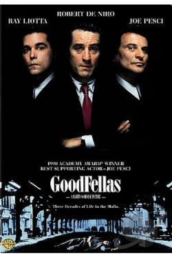 Goodfellas DVD Cover Art
