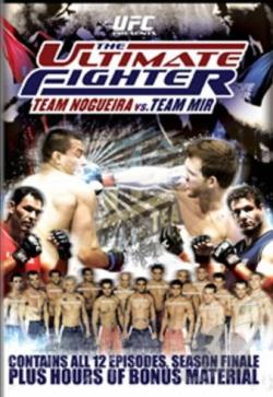 UFC: The Ultimate Fighter - Season 8: Team Nogueira vs. Team Mir DVD Cover Art