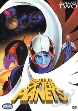 Battle Of The Planets - Vol. 2 DVD Cover Art