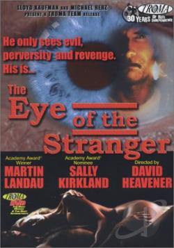 Eye of the Stranger DVD Cover Art