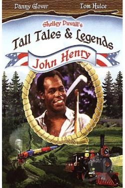 Shelley Duvall's Tall Tales and Legends - John Henry DVD Cover Art