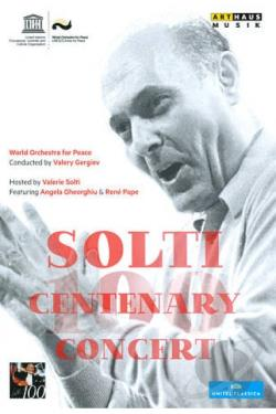 World Orchestra for Peace: Solti Centenary Concert DVD Cover Art