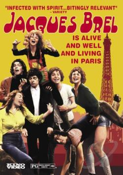 Jacques Brel is Alive and Well and Living in Paris DVD Cover Art