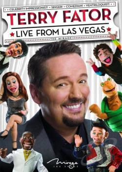 Terry Fator - Live from Las Vegas DVD Cover Art