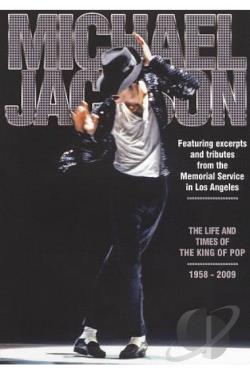 Michael Jackson: The Life & Times of the King of Pop DVD Cover Art