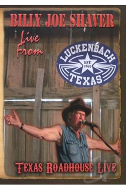 Billy Joe Shaver: Live from Luckenbach DVD Cover Art