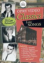 Grand Ole Opry Video: Collection: Love Ballads DVD Cover Art