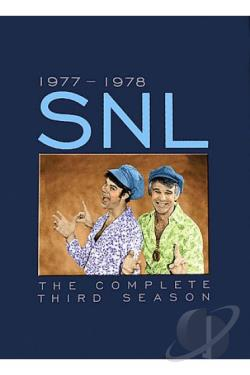Saturday Night Live - The Complete Third Season DVD Cover Art