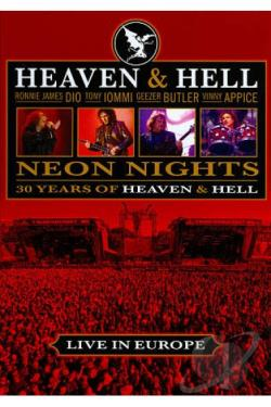 Heaven and Hell: Neon Nights - Live at Wacken DVD Cover Art