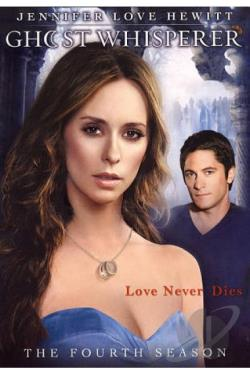 Ghost Whisperer - The Complete Fourth Season DVD Cover Art