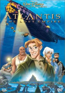Atlantis: The Lost Empire DVD Cover Art